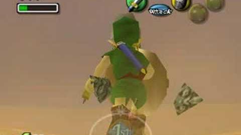 Zelda Majora's Mask - Boss 4 - Twinmold (Three Hearts)