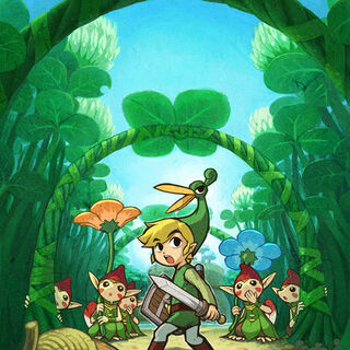 Link e i Minish nella <a class=