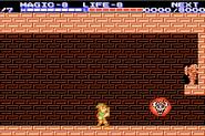 Link frente a un Gran Bubble