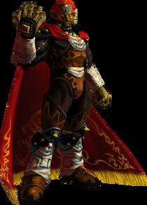 Ganondorf Artwork (TLOZ OoT 3D)