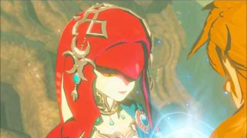 The Legend of Zelda Breath of the Wild - Mipha Erinnerung Cutscene (Nr.10)