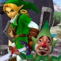 Link e Tingle nell'arena della Great Bay