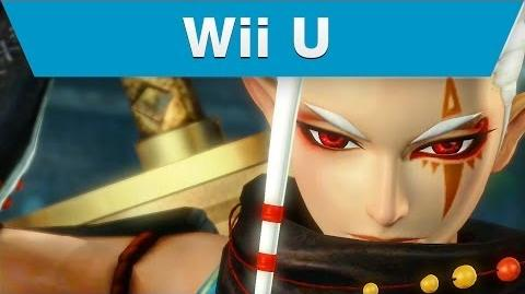 Wii U -- Hyrule Warriors Trailer with Impa and a Giant Blade