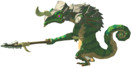 Breath of the Wild Enemies (Lizalfos) Lizalfos (Render)