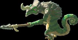 Breath of the Wild Enemies (Lizalfos) Lizalfos (Render)