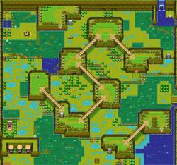 Mapa de la Región Inexplorada de Tabanta