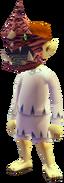 Niño Lunar con los restos de Gyorg MM