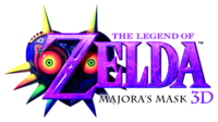 The Legend of Zelda Majora's Mask 3D Logo