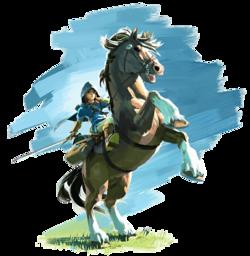 Link und Sein Pferd