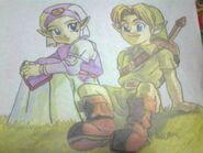 Link y zelda young