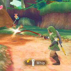 Link usa la Frusta all'E3 2010 - demo