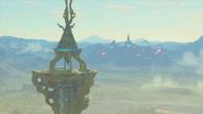 Torre de la meseta y Castillo de Hyrule BotW