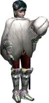 Twilight Princess Ashei Snowpeak Yeti Cloak (Render)