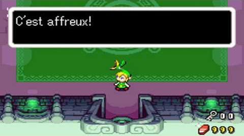 Zelda The Minish Cap Miniboss 9 3 Dark Nuts 3 Darknuts (no damage) HD