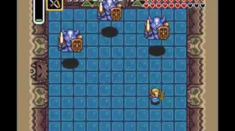 Video Armos Knights Ganon S Tower A Link To The Past