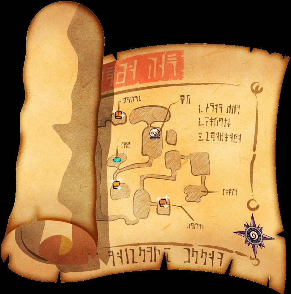 Zelda Wind Waker Karte.Dungeon Map Zeldapedia Fandom Powered By Wikia