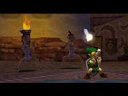 Link bailando con hermanas Rosa MM