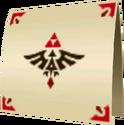 Lettre de Zelda OoT3D