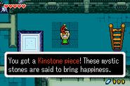 Link consiguiendo Piedra Suerte captura