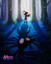 Poster Majora's Mask 3DS