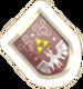 Pegatina Escudo Héroe SSBB