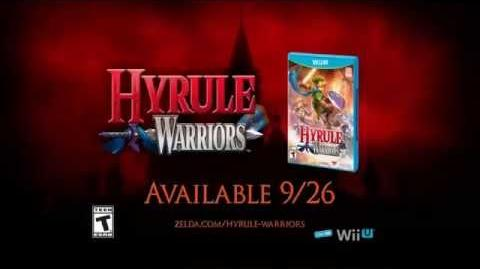 Wii U Hyrule Warriors TV Commercial