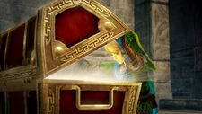 Hyrule Warriors Link Cofre
