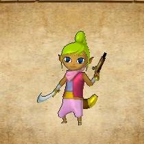 Tetra Atuendo Master Wind Waker Zelda HWL