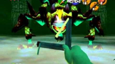 Zelda Ocarina of Time - Reina Gohma