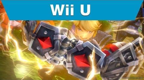 Hyrule Warriors ゼルダ無双 - Link with a Gauntlet