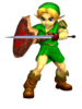 SSBM Link Enfant Artwork