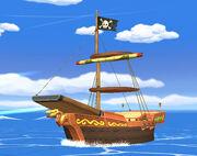 Bateau Pirate de Tetra SSBB