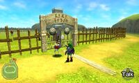 Link adulto con Ingo