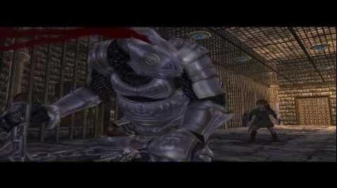 Marteleur Sous-Boss des Ruines des Pics Blancs (Zelda Twilight Princess) HQ