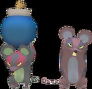 Rats teigneux