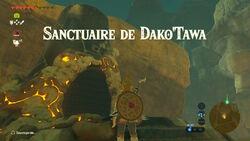 Sanctuaire de Dako'Tawa BOTW