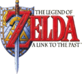 The Legend of Zelda - A Link to the Past (logo)