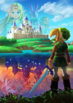 Artwork A Link Between Worlds