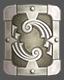 Escudo de hierro sólido