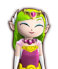 Portrait Zelda Cartoon HWL4