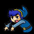 TFH Link azul lanzando
