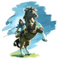 Link and Epona (Breath of the Wild).png