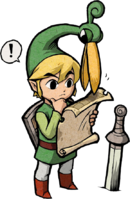 Minisch-Link Labyrinthkarte(The Minish Cap)