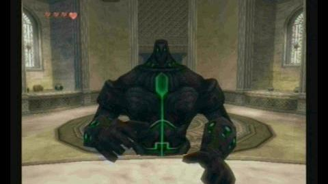 Twilight Princess - Armos Titan en el templo del tiempo