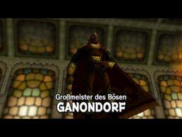Ganondorf-kampf mit titel
