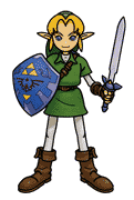 Link Artwork (Super Smash Bros.)