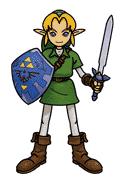 Link Artwork (Super Smash Bros.)