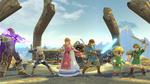 SSBU Zelda Combattants