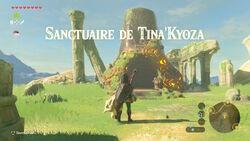 Sanctuaire de Tina'Kyoza BOTW