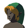 Breath of the Wild amiibo Rune Items (Hero of Time Armor) Cap of Time (Icon).png